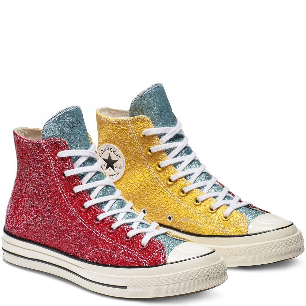Converse X JW Anderson Glitter High Top