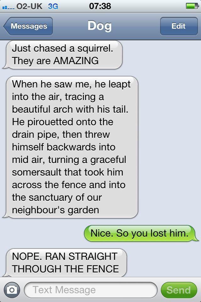 Text From Dog Haha Funny Dog Texts Funny Text Memes Funny