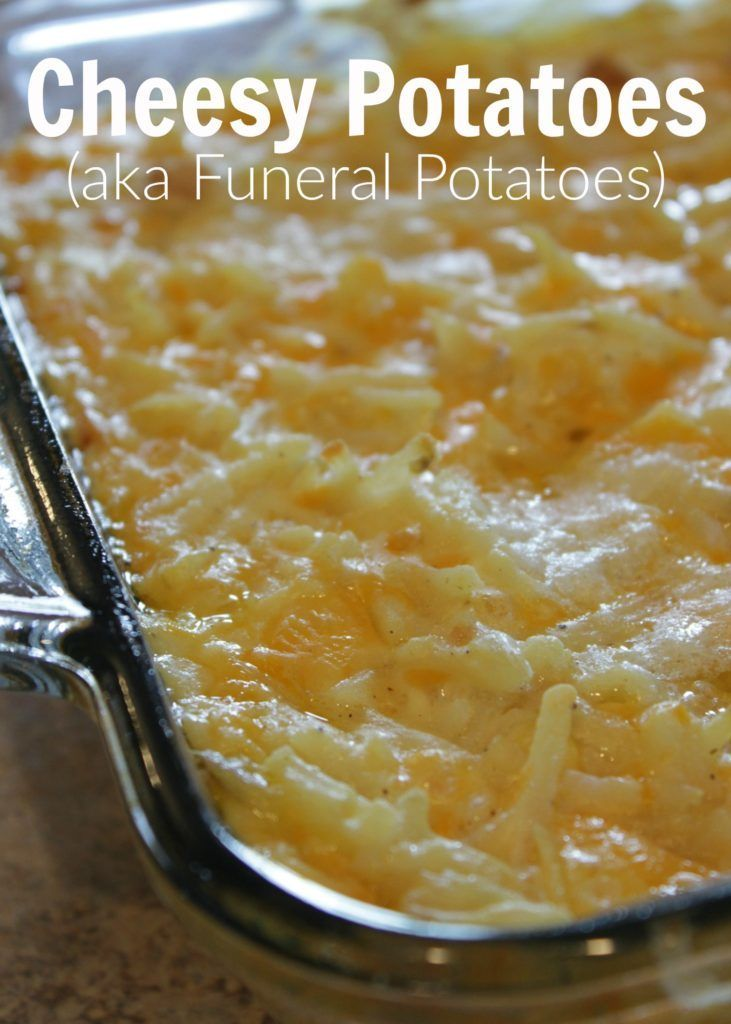 This Cheesy Potato Casserole is the ONLY Thing Missing from Dinner