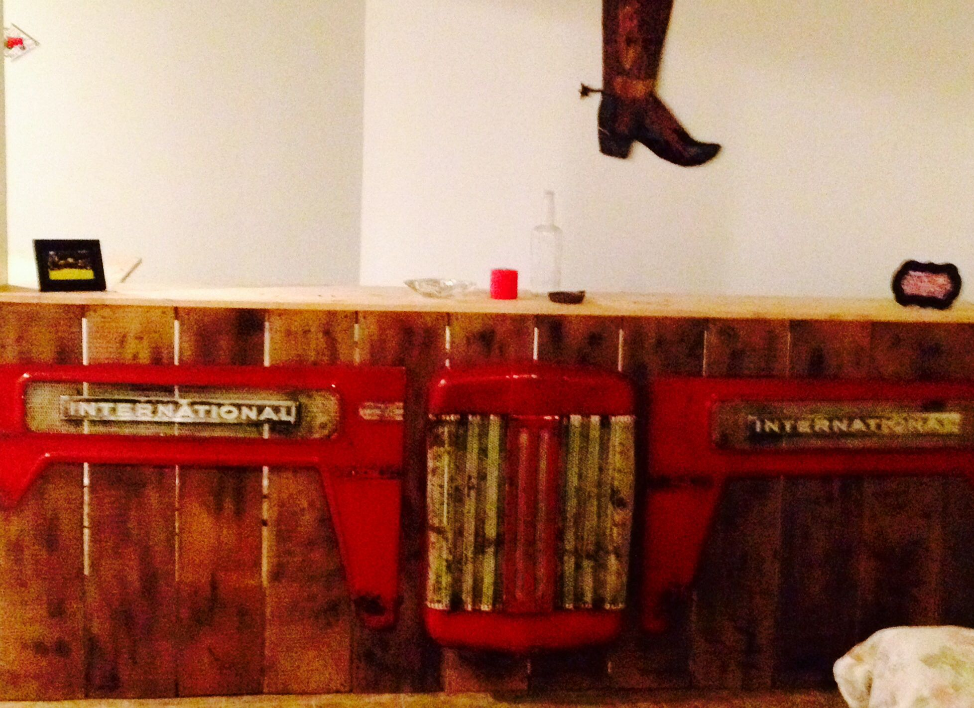 International harvester tractor bar ideas for adams man cave