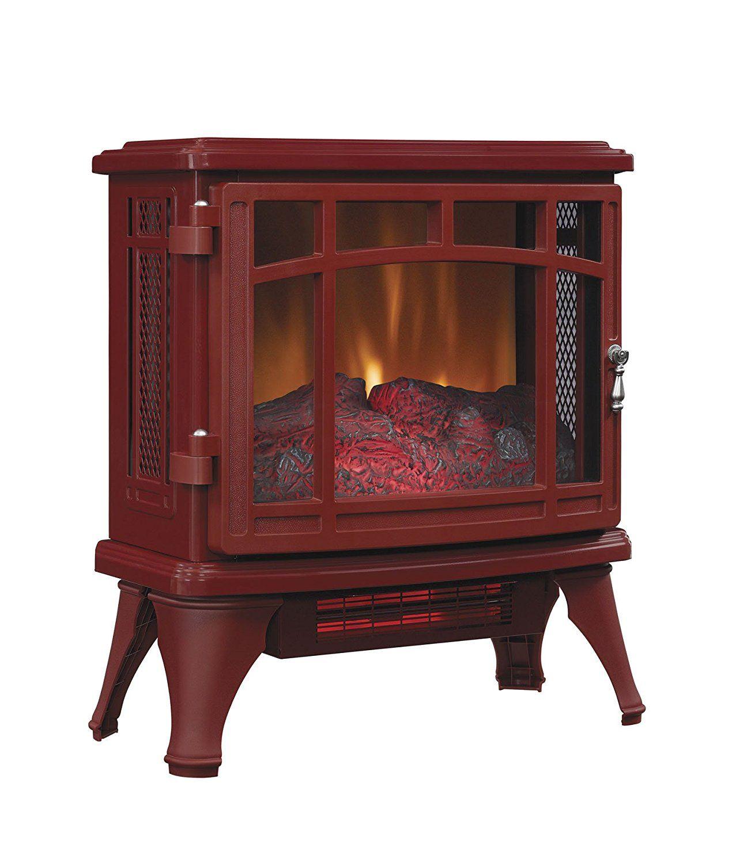 Duraflame Dfi 8511 03 Infrared Quartz Fireplace Stove Cinnamon Infrared Quartz Fireplac Stove Fireplace Fireplace Free Standing Electric Fireplace