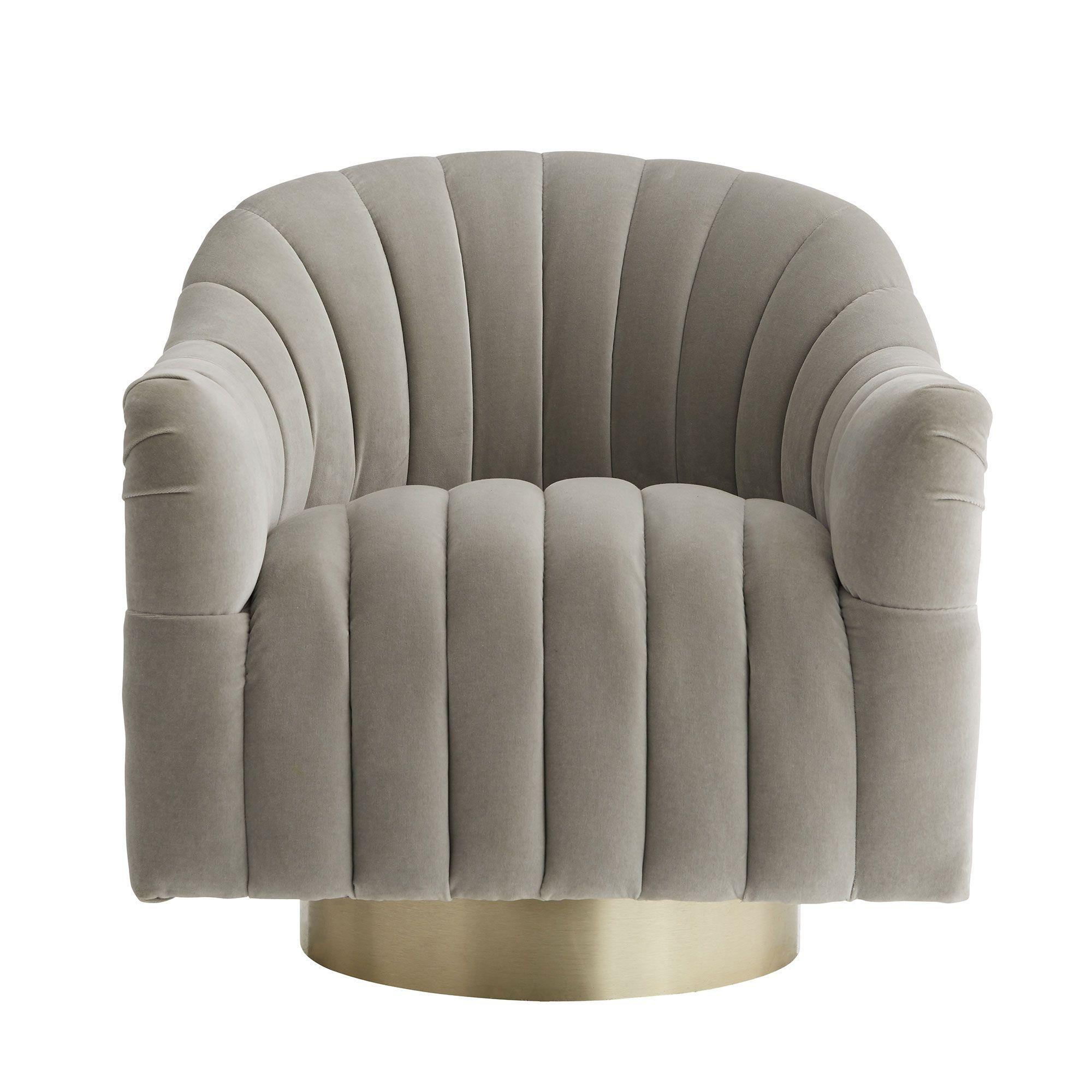 Arteriors Home Springsteen Chair Flint Velvet Champagne Swivel In 2021 Furniture Upholstered Seating Upholstered Chairs Swivel living room chairs traditional