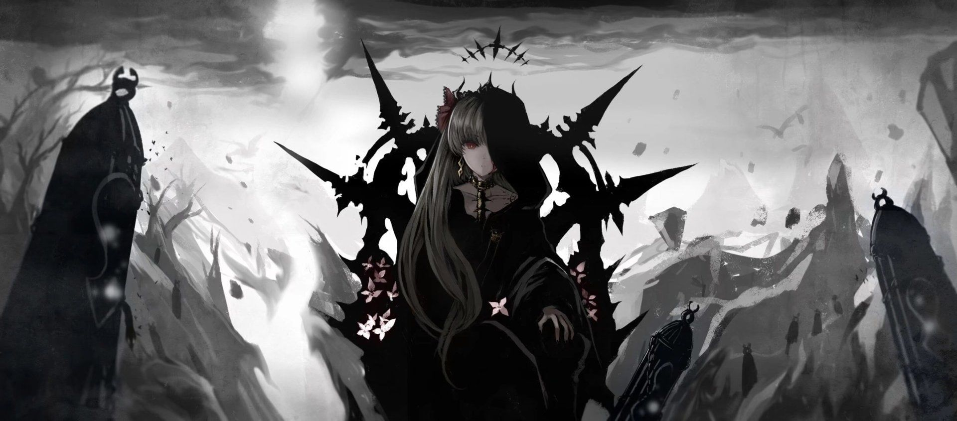 Fate Series Fate Grand Order Dark Ereshkigal Fate Grand Order 1080p Wallpaper Hdwallpaper Des Anime Artwork Wallpaper Hd Wallpaper Facebook Cover Photos Fate grand order wallpaper