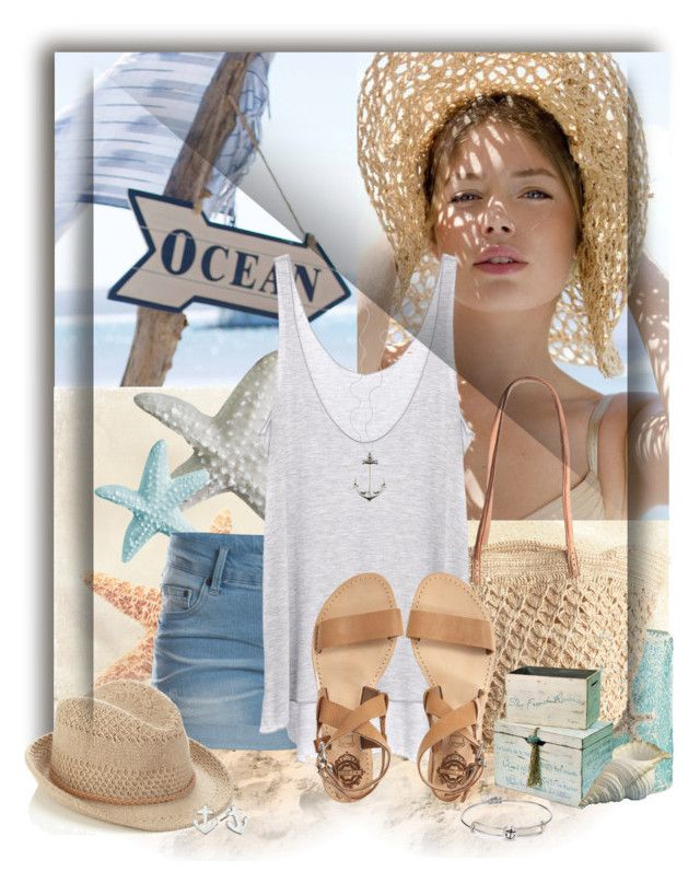 """Take me to the Beach"" by wishlist123 ❤ liked on Polyvore featuring Pier 1 Imports, Pieces, Mar y Sol, Enza Costa, Accessorize, Sol Sana, Sperry Top-Sider, Alex and Ani, women's clothing and women"