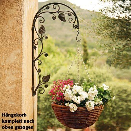 Blumenampel-Halter Blumenzauber - Hängekörbe \ Wandhalter von - blumenampel selber machen hangekorb