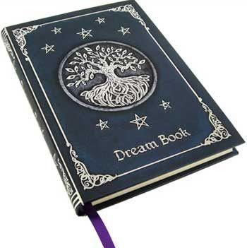 Dream Journal Dream Journal Embossed Journal Book Of Shadows