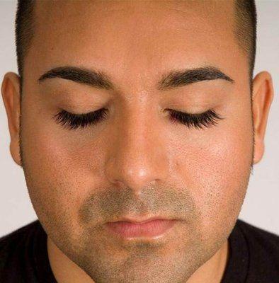 male eyelash extensions eyelash