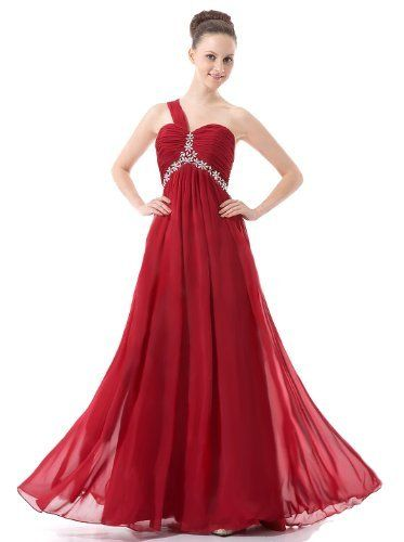 Faironly Red Chiffon One Shoulder Women's Evening Dress R210 FairOnly, http://www.amazon.com/dp/B00GXTEW8I/ref=cm_sw_r_pi_dp_IiBLsb0WSAWKDQWA