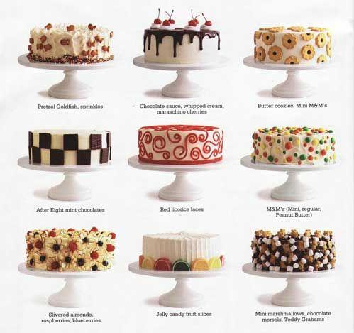 Cake Decorating Queques Bolos E Tortas Minibolos