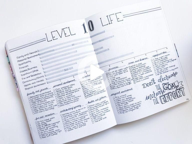 Want to know what health and fitness bullet journal spreads I use to maintain my 45lb. weight loss?...