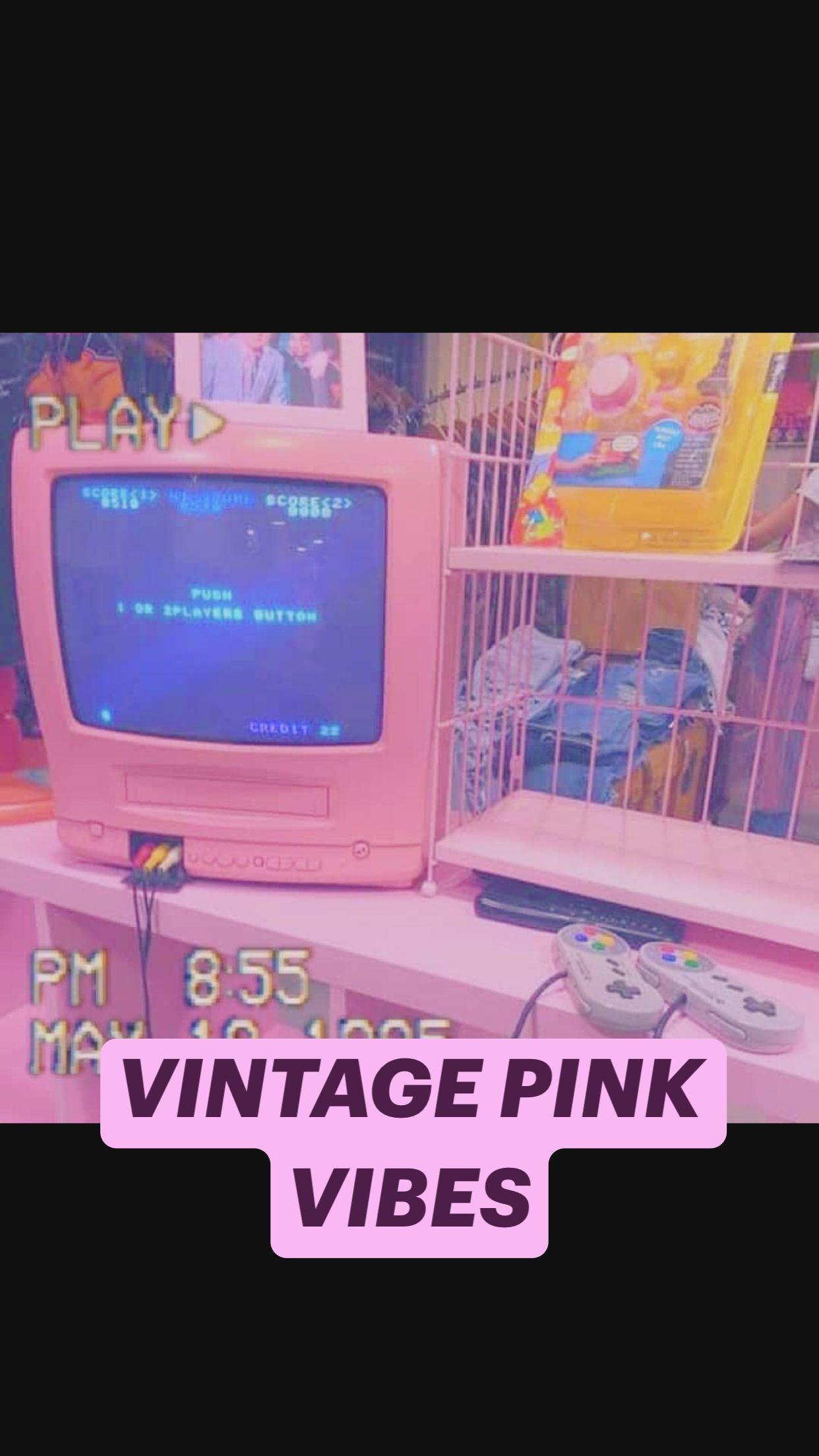 VINTAGE PINK VIBES