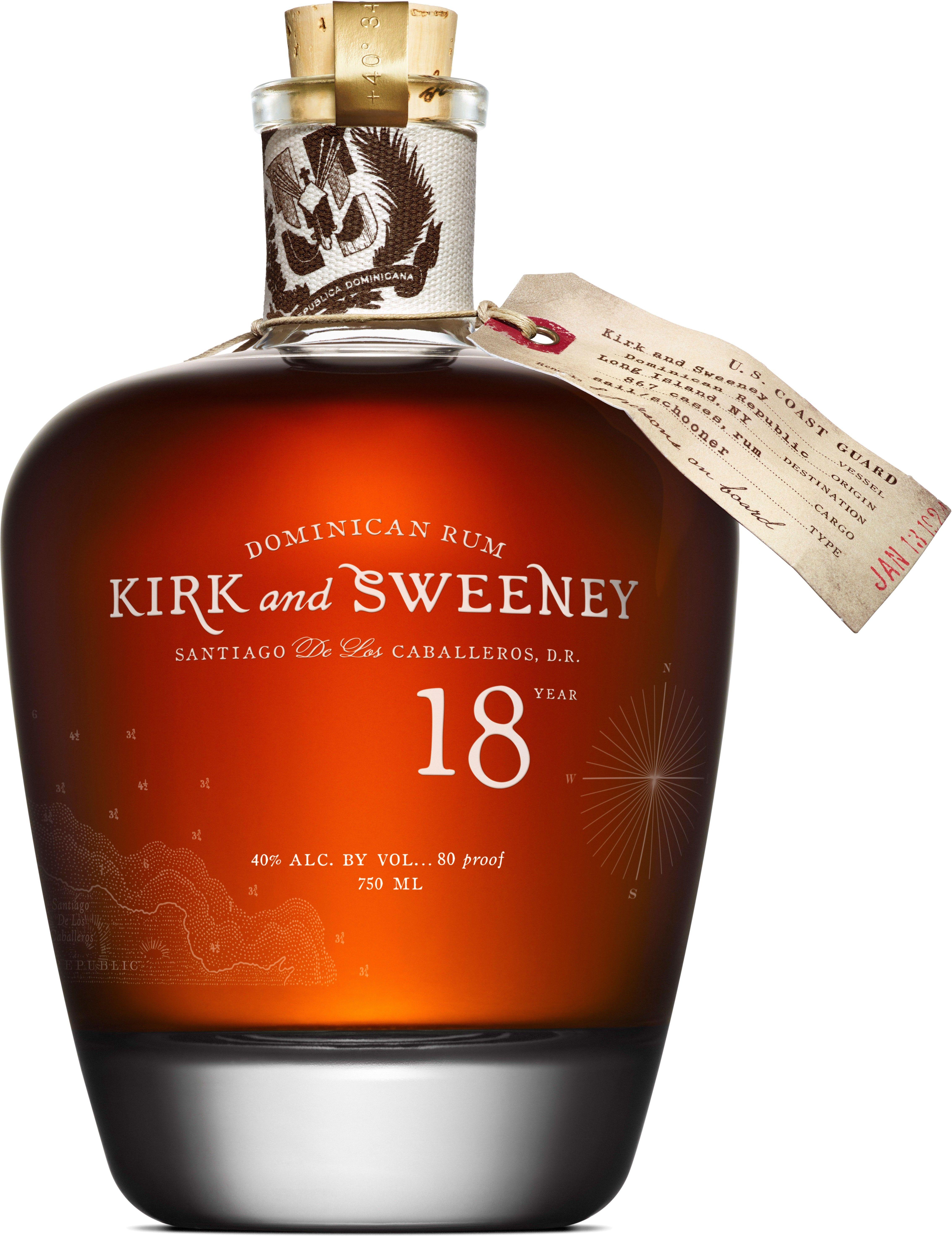 Kirk And Sweeney 18 Year Old Rum Rum Dominican Rum Aged Rum