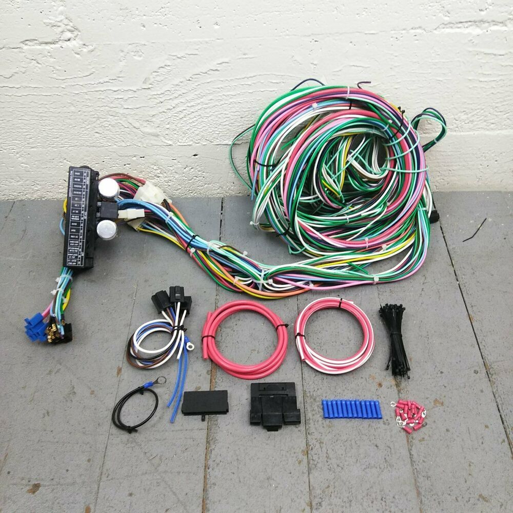 sponsored(ebay) 1994 - 2004 s10 sonoma wire harness upgrade kit fits  painless fuse