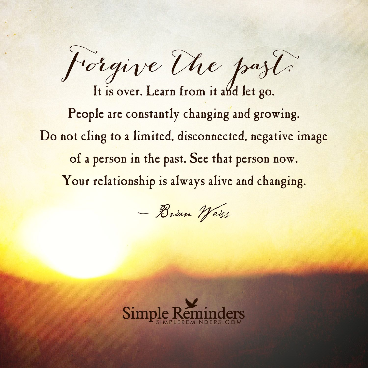 "Contemplating Life Quotes Forgive The Past""brian Weiss  Jean Sorbera  Pinterest"