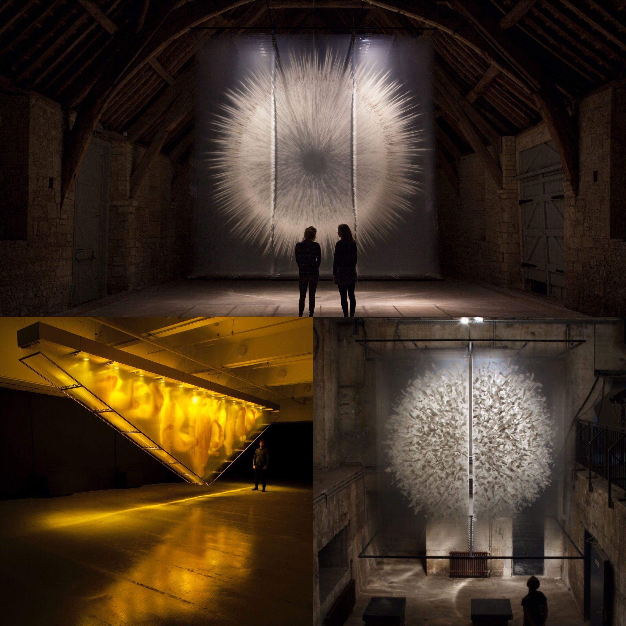 David Spriggs 2017 Installation Artworks Vision Ii Gold And Divided Power Transparent Art Layered Art Illusion Art