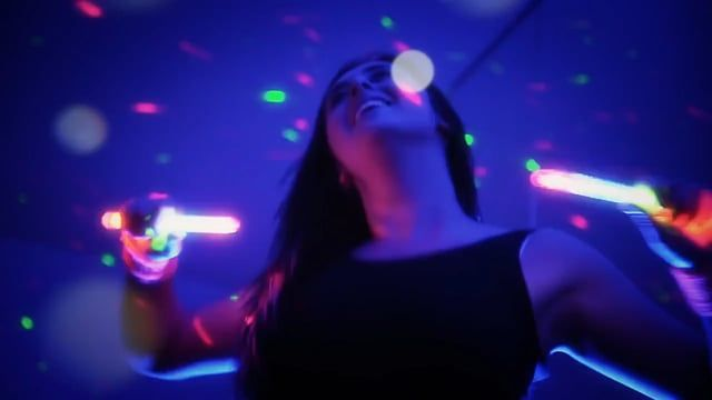 Clubbercise Promo - Dance Fitness Class with Rave Glow Sticks