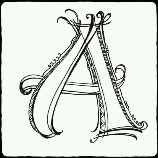 A simple   Color me   Pinterest   Letras, Mandalas y Alfabeto