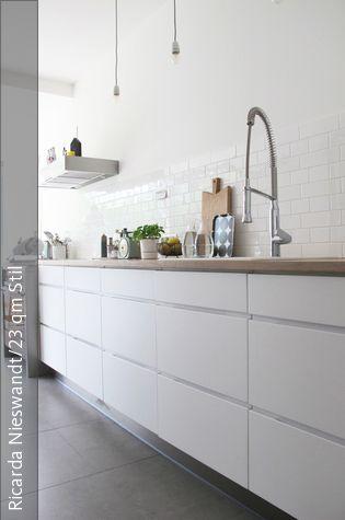 Küche von Bloggerin Ricarda Kitchen diner extension, Kitchens - linoleum arbeitsplatte küche