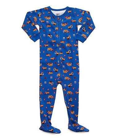 634c185644 Look what I found on  zulily! Blue Truck Footie - Infant ...