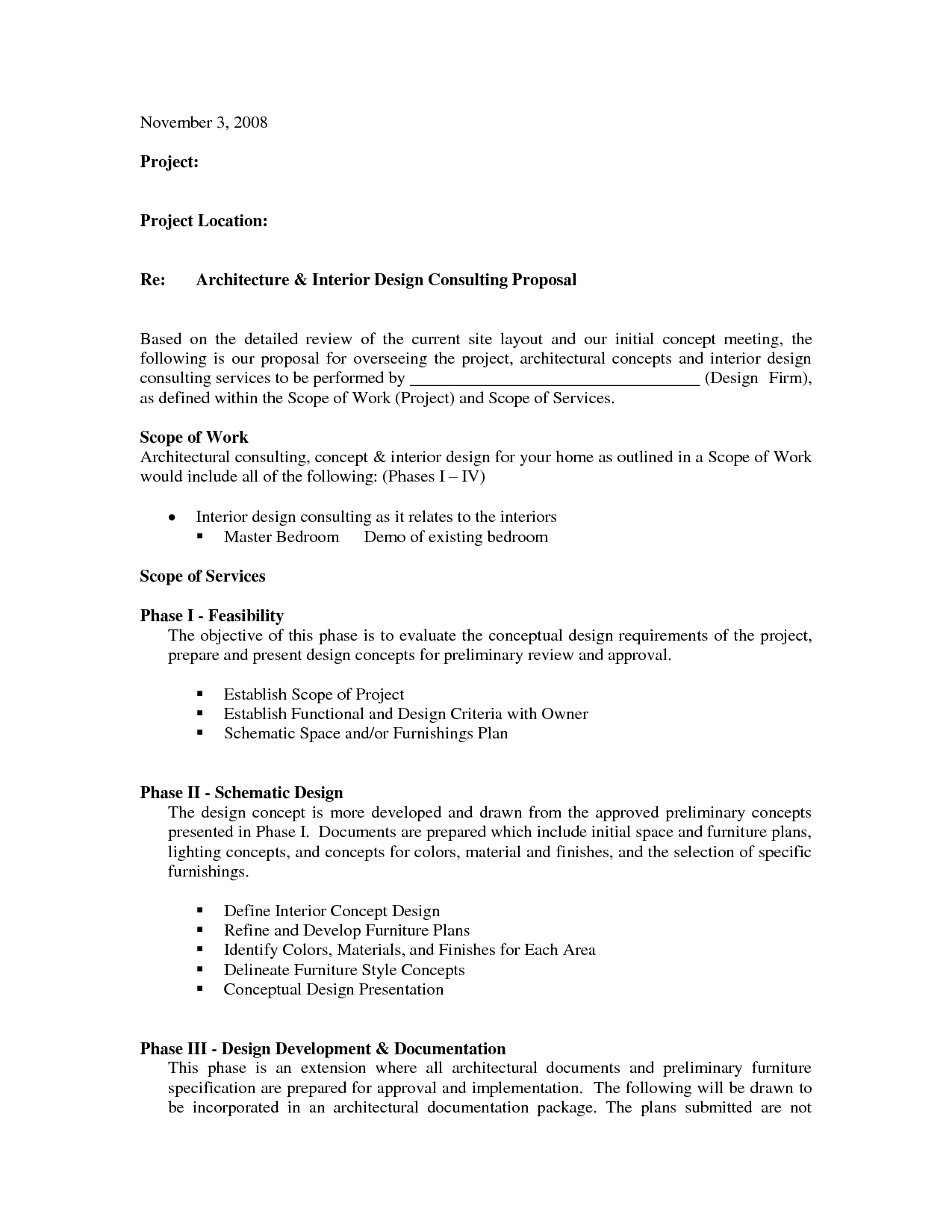 Interior Design Contract Agreement Template (with Sample ...