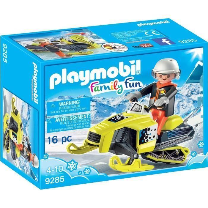 PLAYMOBIL 9285 - Family Fun - Motoneige