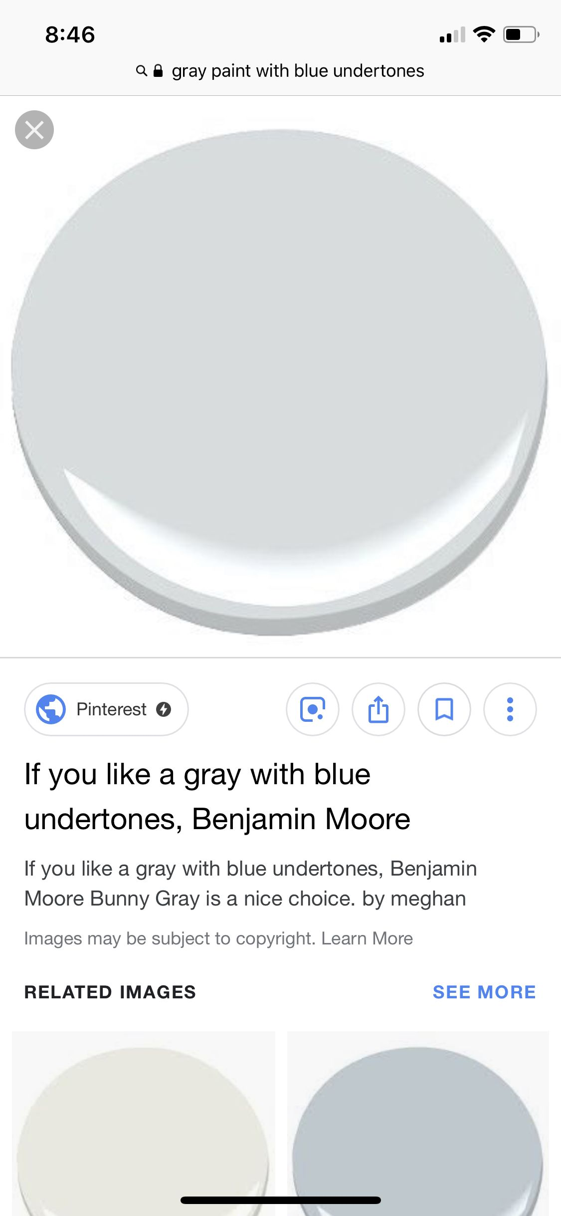 Best Pin By Kim Sayers On Paint Grey Paint Benjamin Moore 400 x 300