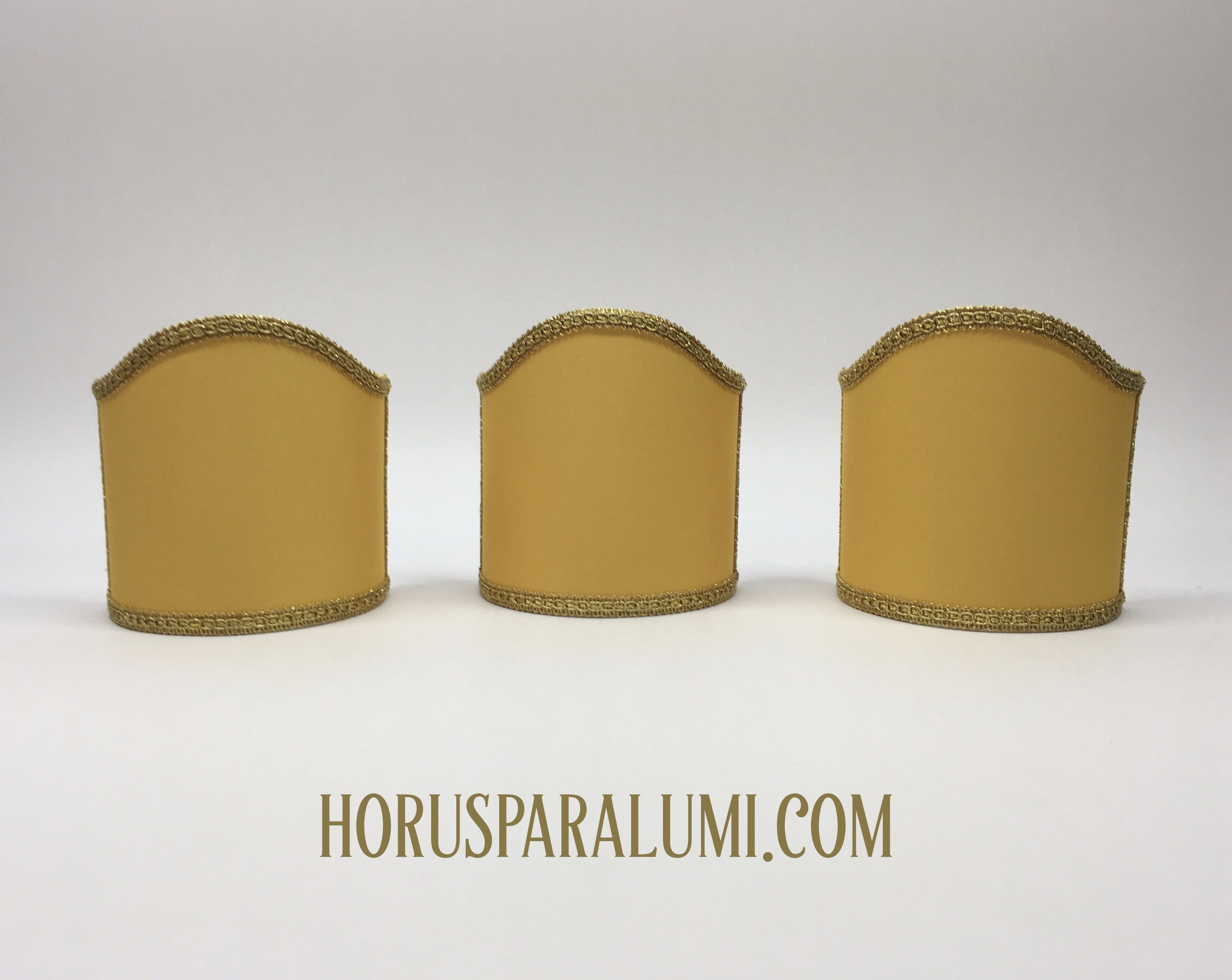 Paralumi in tessuto per applique scopri di più clicca sul pin