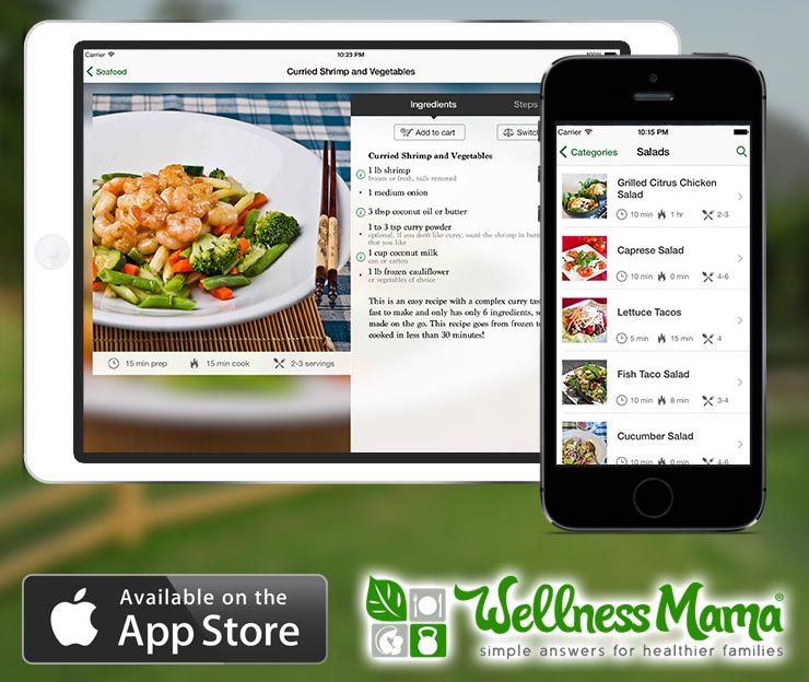 Wellness mama has a mobile app download the wellness mama recipe wellness mama has a mobile app download the wellness mama recipe app for iphone forumfinder Images