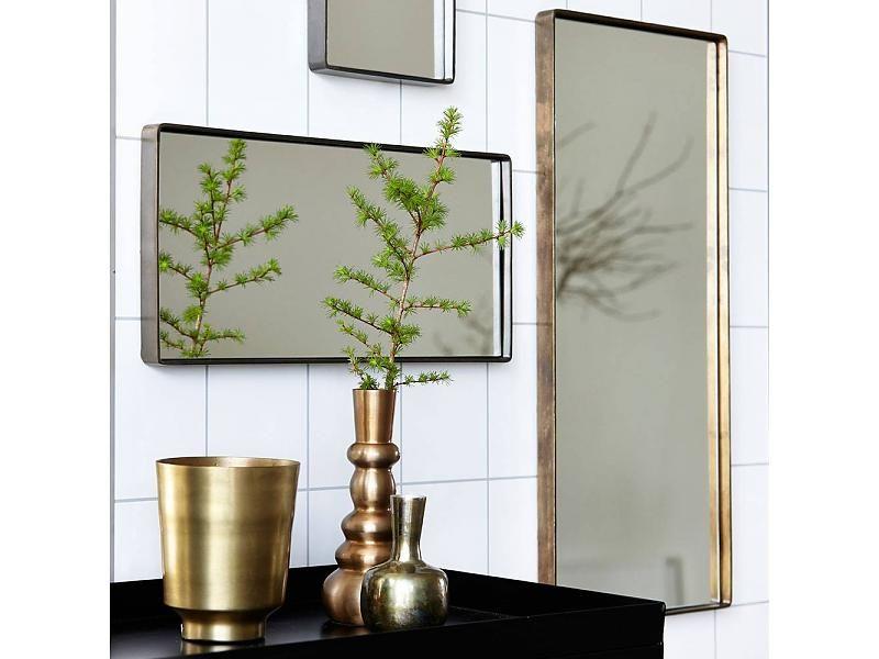 House Doctor Spiegel : House doctor refleksion spiegel messing interior kuglerstraße
