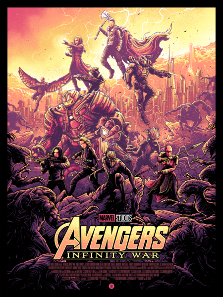 Avengers Infinity War By Dan Mumford On Sale Tomorrow At 1pm Est Avengers Poster Marvel Posters Marvel Artwork