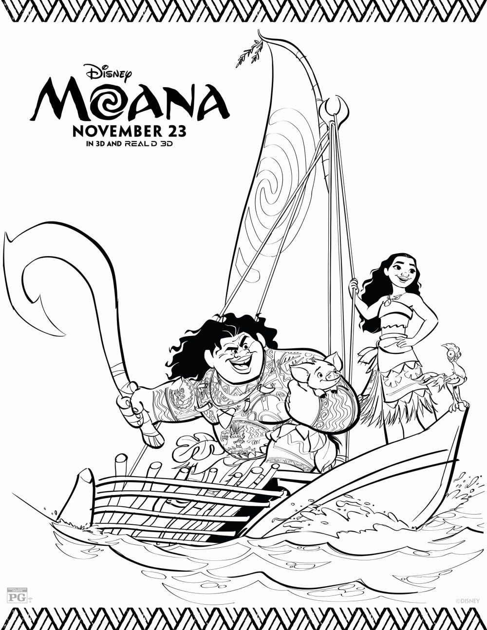 32 Moana Coloring Pages Printable Colorir Best Disney Coloring Pages Moana Coloring Moana Coloring Sheets