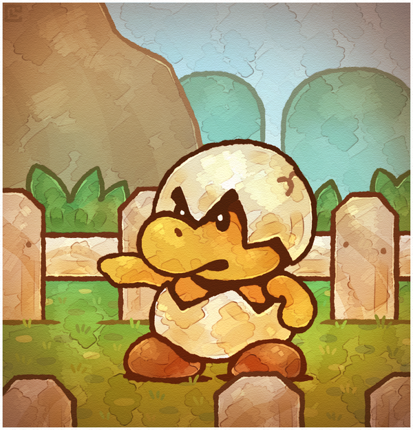 Paper Mario 64 I Ll Be Back By Cavea On Deviantart Super Mario Art Paper Mario 64 Paper Mario