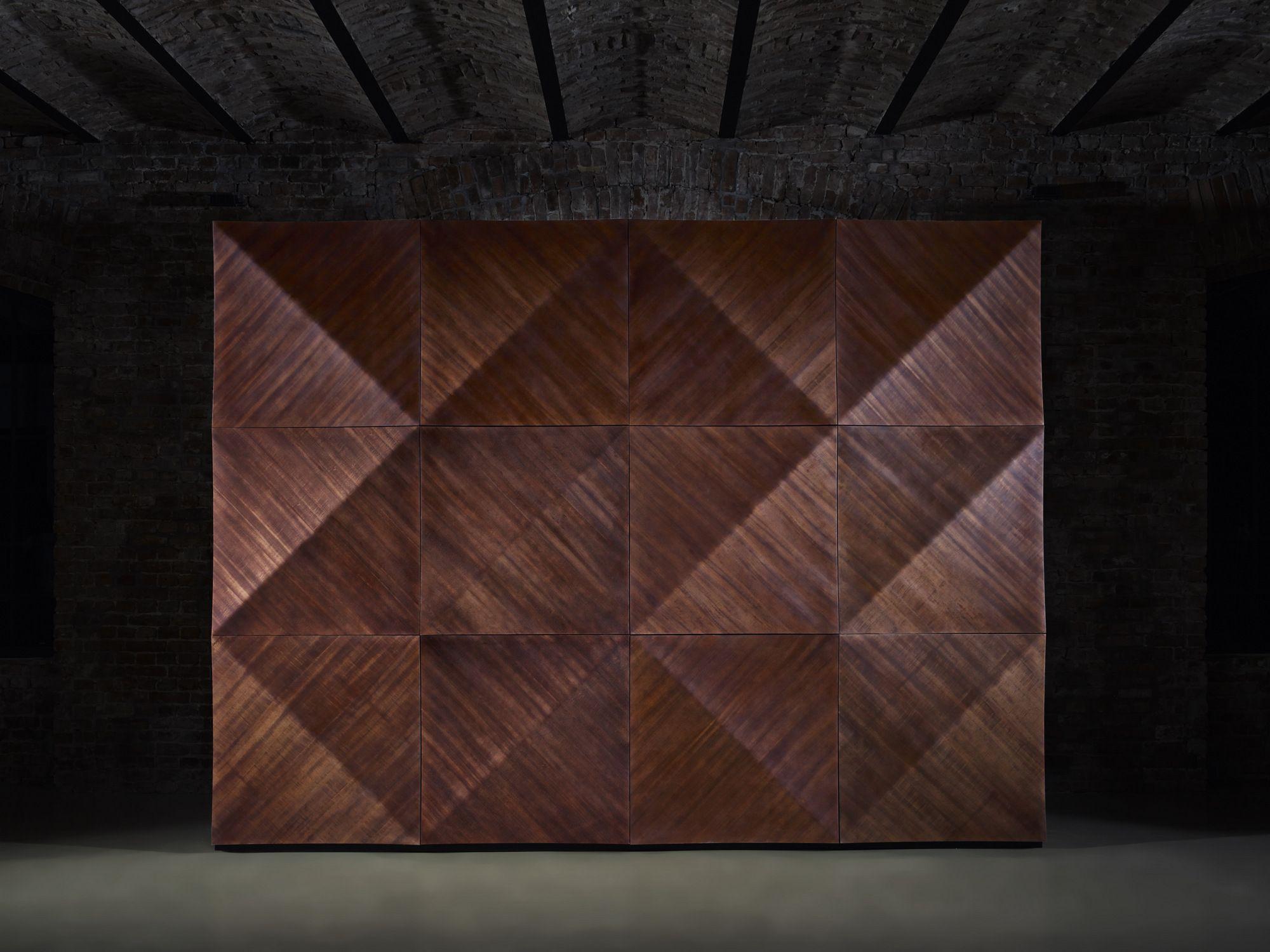 Panel de pared 3D modular de madera KALAHARI by MOKO ... - photo#43