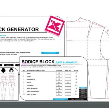 Measurement Generator Building Basic Blocks Sew It Resources