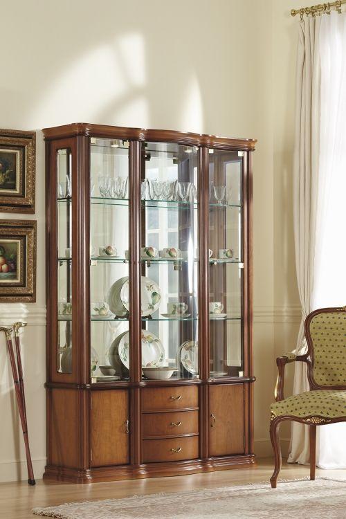 vitrina clasica iluminada Vitrina elegante | MIS CASAS en