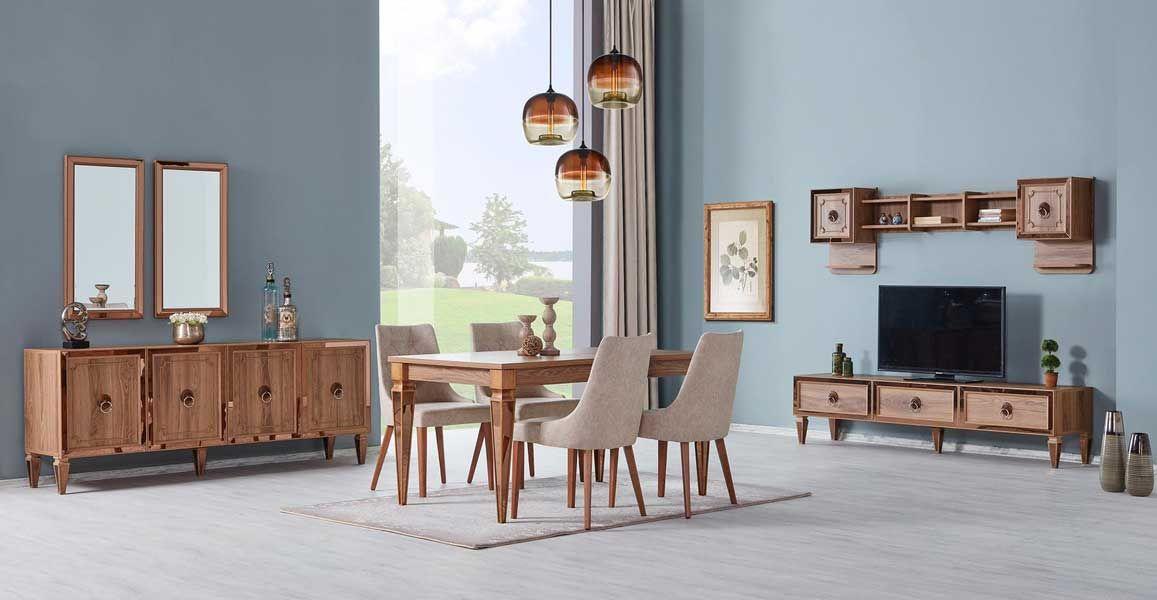 tezel verona yemek odasi takimi mobilya fikirleri mobilya ev dekoru