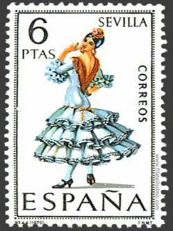 SEVILLA SPAIN POSTAL STAMP