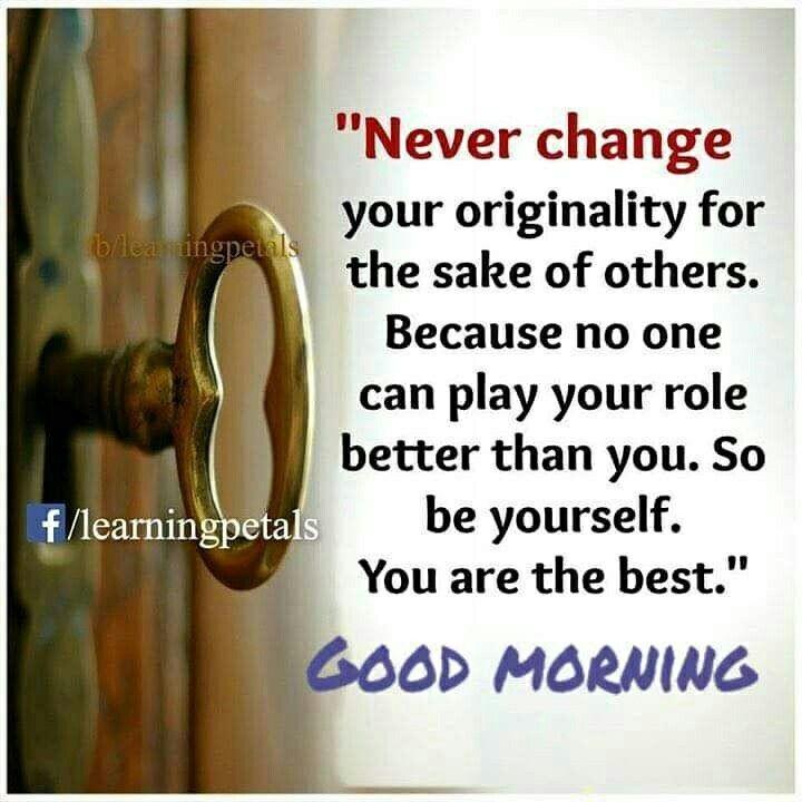 Good Morning Guys Loveyourself Quotes Kanikasharma