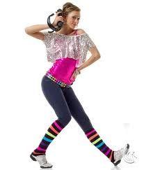 be0a72f030d1 denim hip hop costume - neon color each girl