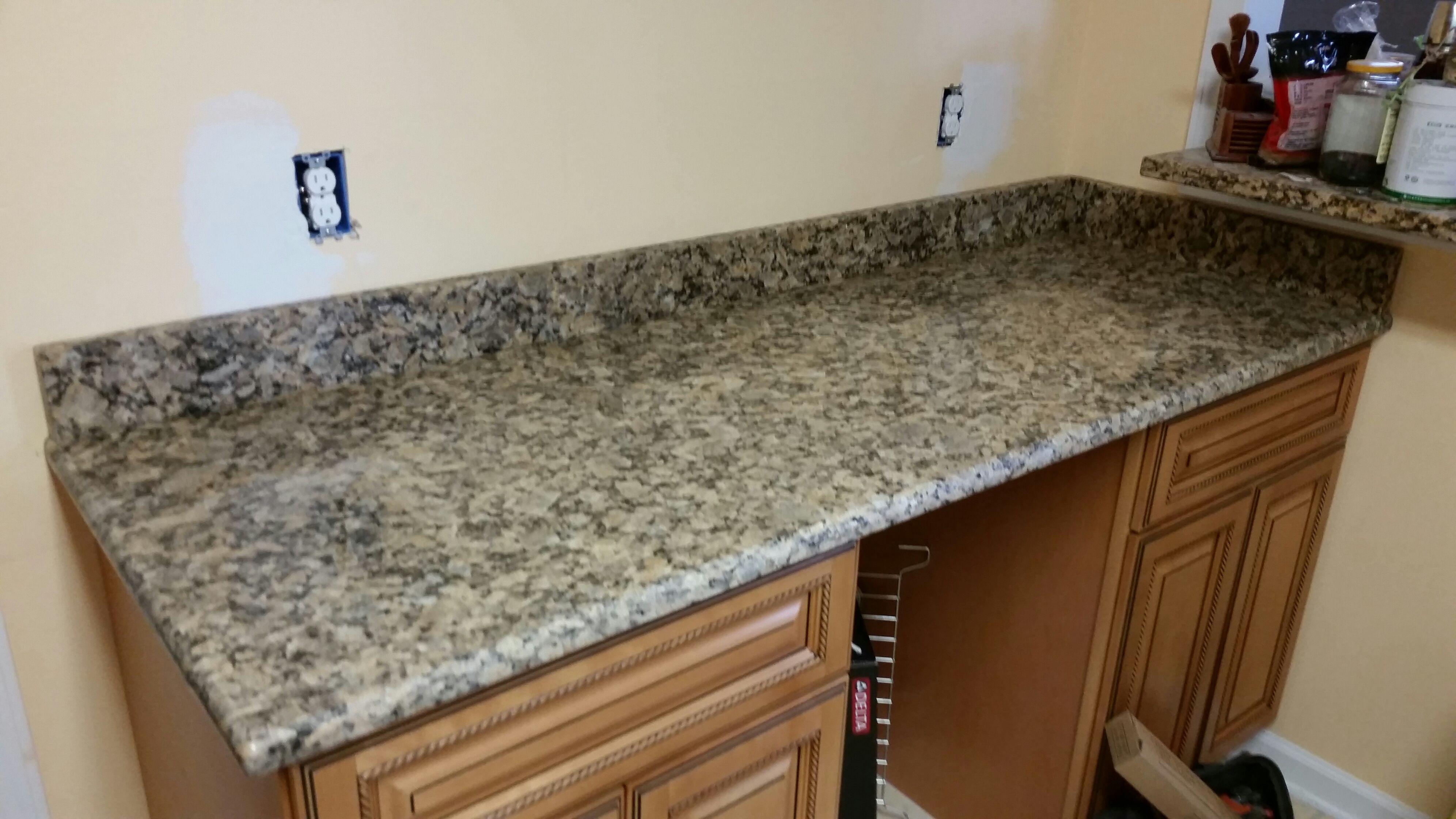 Giallo Fiorito Granite Kitchen Countertop Install For The Kirk Family.  Knoxvilleu0027s Stone Interiors. Showroom