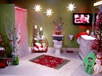 It is practical to decorate the bathroom for the holidays to keep the Christmas spirit alive throughout the home. The bathroom is a private ... #ferientisch
