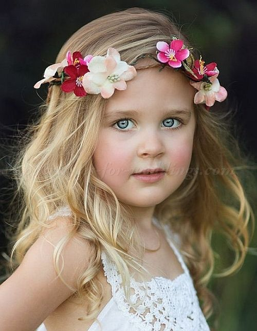 Flower Girl Hairstyles Flowergirl