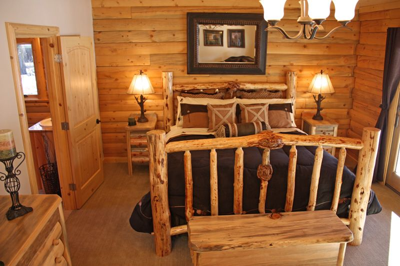 Perfect Image Detail For  Log Cabin Bedroom Furniture « Real Log Style