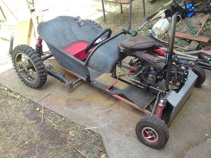 lawn mower go kart plans google search mechanical. Black Bedroom Furniture Sets. Home Design Ideas