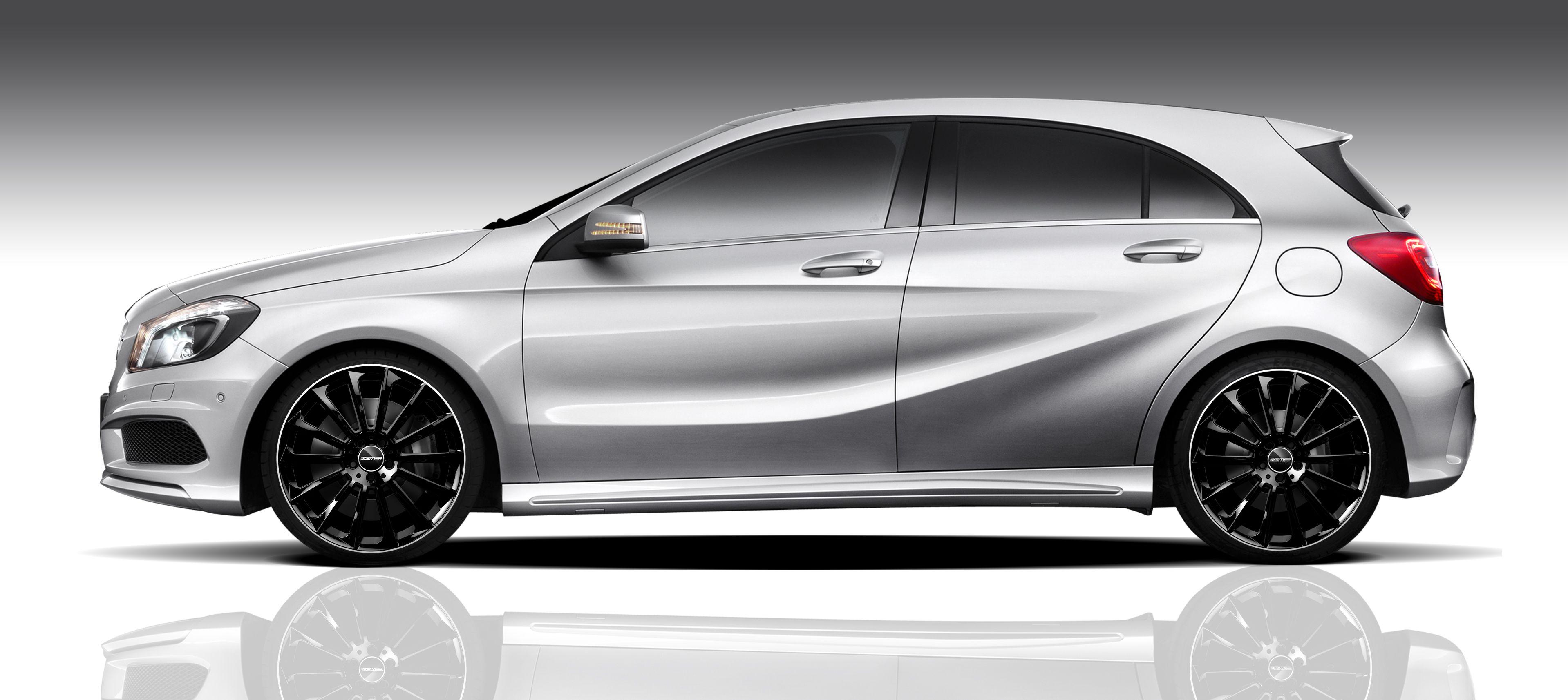 Mercedes Benz A Class with Stellar Black Diamond Lip professional