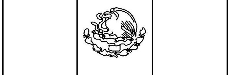 mexican flag coloring page | Mexican Flag | Pinterest | Mexican ...