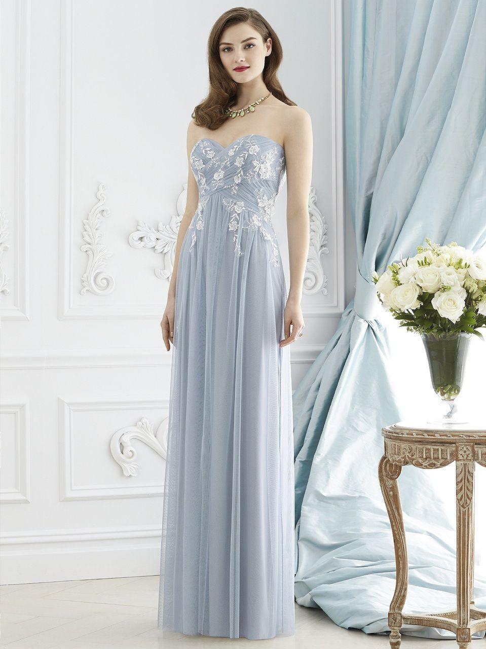 Dessy Collection Bridesmaid Dress Style - 2948 | Blush Bridal ...