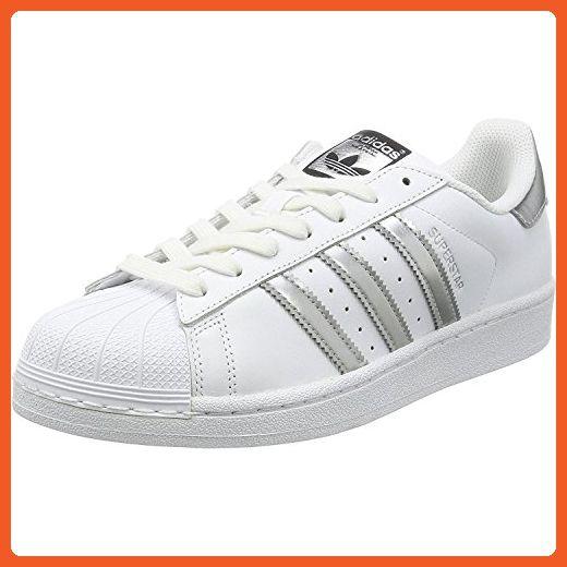 Originals Women 6 5 Adidas Leather Superstar Whitesilver B mUs TFJ1c35luK