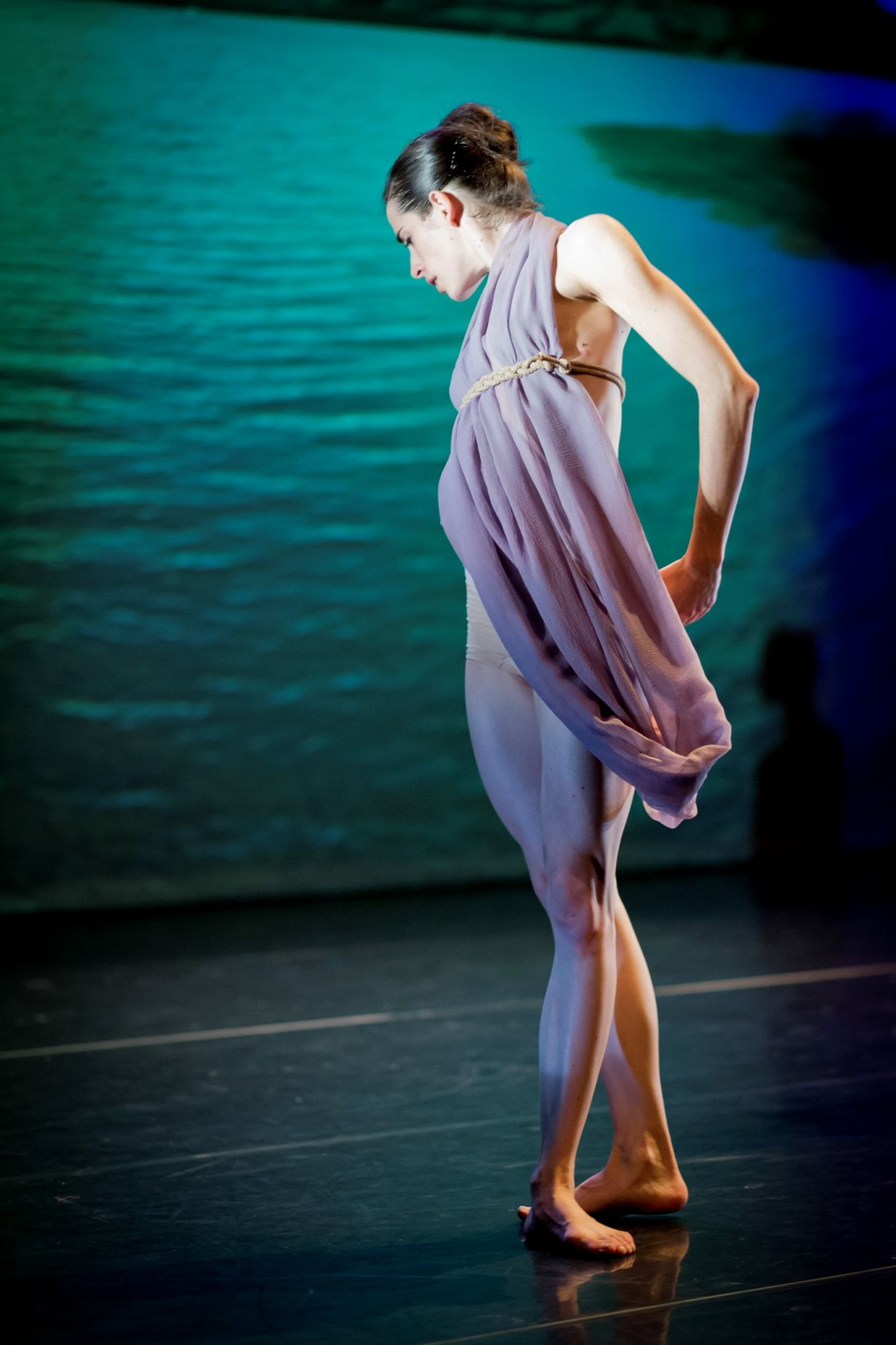 Neus Gil Cortés in Water Stories, National Dance Company
