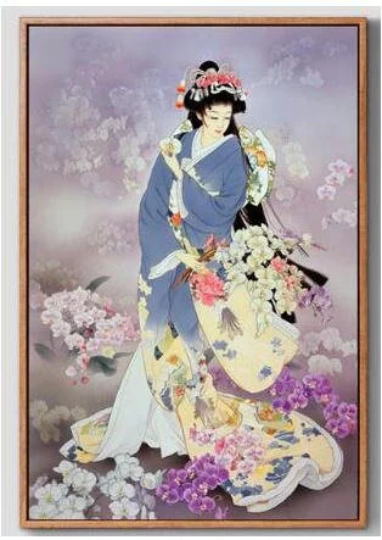 d9c3907287 3D Woman Diamond Painting kit DIY painting Chinese style Classical beauty. Cross  Stitch Crystal Needlework Embroidery.Diamond Mosaic.
